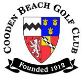 Cooden Beach golf club logo | Sussex Golf