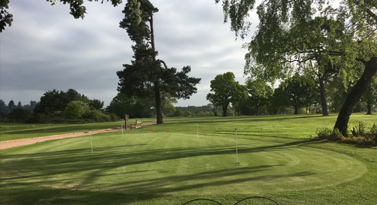 Cottesmore-Golf course putting green | Sussex Golf