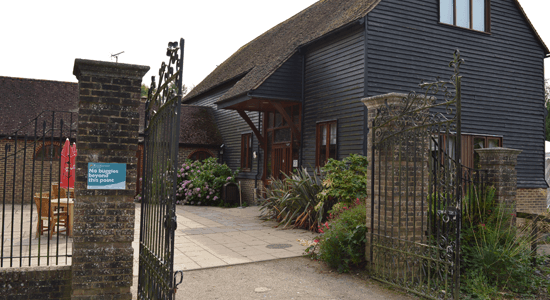 Rookwood-Golf-Course-warnham-barn entrance | Sussex Golf